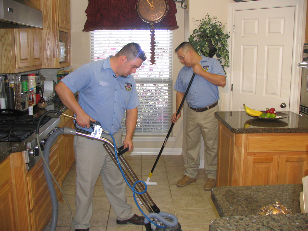 Tile And Grout Cleaning American SteamAWay Of Southeast Texas - What is the best solution to clean tile floors