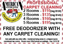 2016B Carpet Cleaning Coupon
